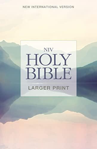 9780310446514: NIV, Holy Bible, Larger Print, Paperback