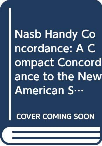 9780310452522: Nasb Handy Concordance: A Compact Concordance to the New American Standard Bible