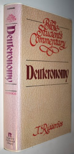 9780310452607: Bible Student's Commentary: Deuteronomy