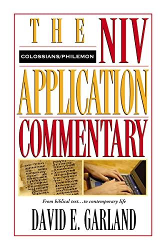 9780310484806: Colossians, Philemon