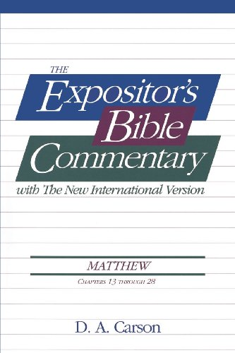 9780310499718: Matthew, Vol.2 (Ch. 13-28), The Expositor's Bible Commentary