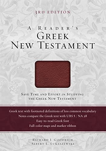 9780310516804: A Reader's Greek New Testament