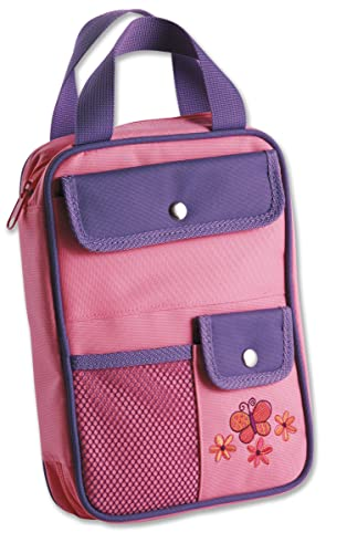 Girls Organizer Cover Pink Butterfly Medium (0310520339) by Zondervan