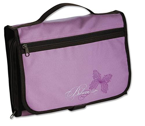Designer Tri-Fold Cover Lavender/Chocolate Large: Zondervan