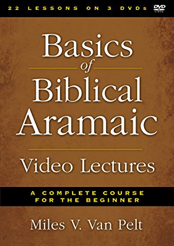 9780310520665: Basics of Biblical Aramaic Video Lectures: A Complete Course for the Beginner [USA] [DVD]