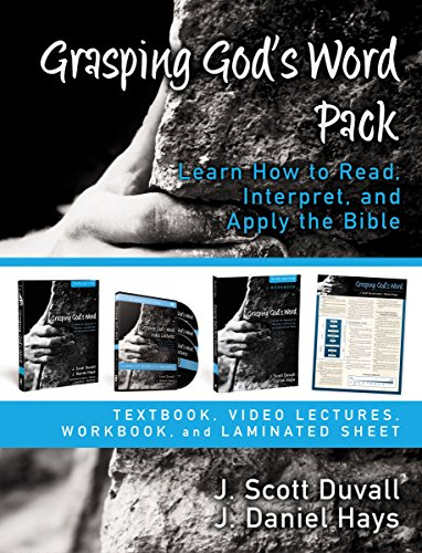 9780310521631: Grasping God's Word Pack: Learn How to Read, Interpret, and Apply the Bible