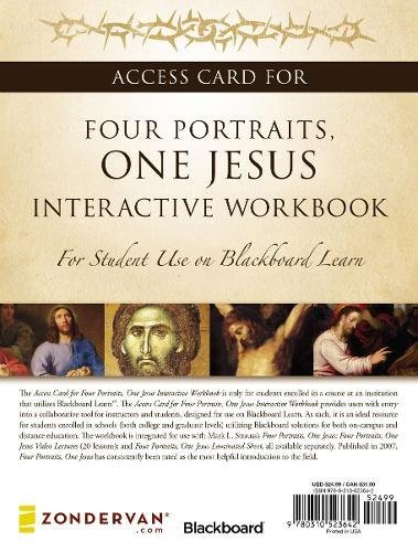 9780310523642: Access Card for Four Portraits, One Jesus Interactive Workbook: For Student Use on Blackboard Learn