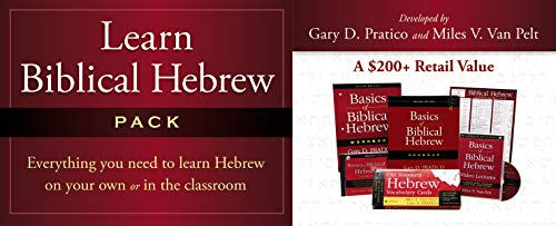 9780310523918: Learn Biblical Hebrew Pack: Integrated for Use with Basics of Biblical Hebrew