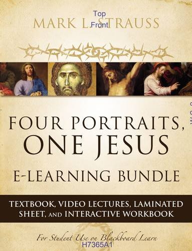9780310524571: Four Portraits, One Jesus E-Learning Bundle: Textbook, Video Lectures, Laminated Sheet, and Interactive Workbook