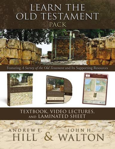 9780310526735: Learn the Old Testament Pack: Featuring A Survey of the Old Testament and Its Supporting Resources