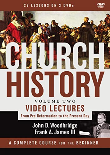 9780310533900: Church History, Volume Two Video Lectures: From Pre-Reformation to the Present Day