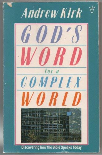 9780310555315: God's Word for a Complex World