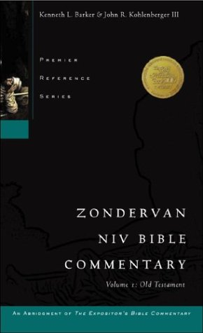 9780310578505: 001: Zondervan NIV Bible Commentary, Volume I: Old Testament (Premier Reference Series, an Abridgment of The Expositor's Bible Commentary)