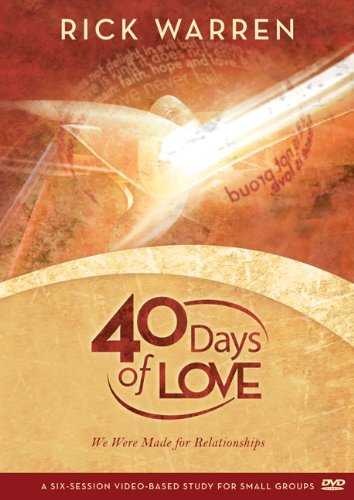 9780310587965: 40 Days of Love, Session 4: We Were Made for Relationships