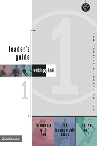 9780310592037: Walking with God Leader's Guide 1