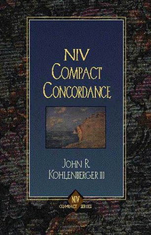 9780310594802: Niv Compact Concordance
