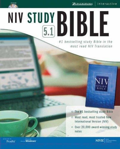 9780310601609: Zondervan NIV Study Bible 5.1 for Windows CD Rom GM