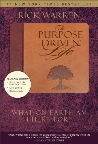 9780310601944: Purpose Driven Life: Duo-tone Keepsake Edition