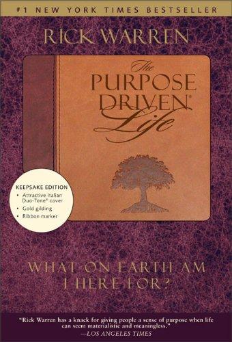 9780310601944: The Purpose Driven Life, Duo Tone Keepsake Edition