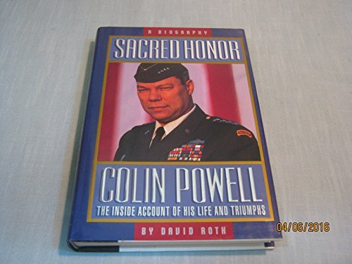 9780310604808: Sacred Honor: A Biography of Colin Powell