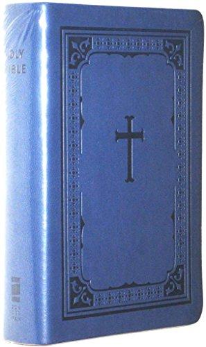 9780310604884: NIV Zondervan Compact Pocket Bible Blueberry/Blue Italian Duo Tone