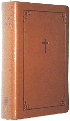9780310605010: NIV Zondervan Compact Pocket Bible Toffee Brown Italian Duo Tone