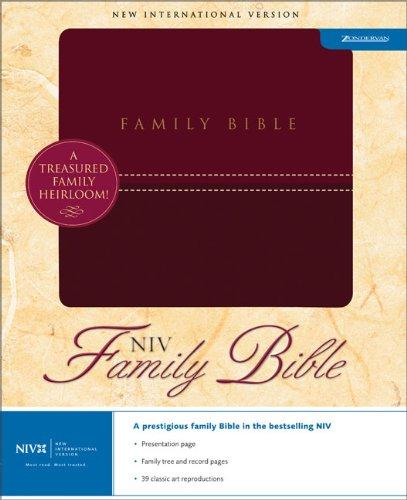 Family Bible: Zondervan
