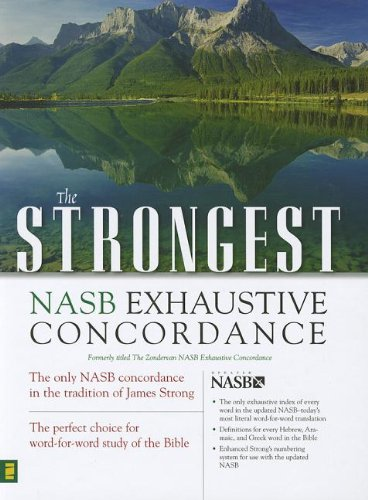 Strongest NASB Exhaustive Concordance Super Saver (Strongest Strong's): Strong, James