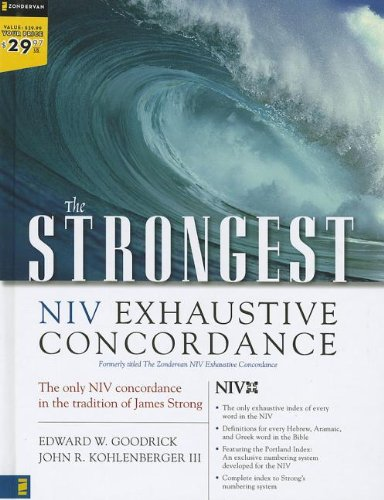 9780310606895: The Strongest NIV Exhaustive Concordance