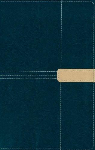 9780310606956: NIV Thinline Navy/Camel- FCS