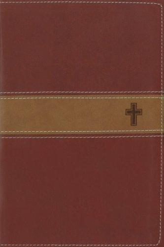 9780310607465: NIV Gift Bible Bible Burgundy/Tan with Cross-Walmart