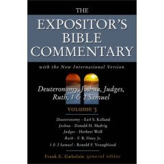 9780310608936: The Expositor's Bible Commentary: Deuteronomy, Joshua, Judges, Ruth, 1 & 2 Samuel (Volume3)