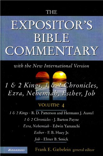 9780310608943: The Expositor's Bible Commentary with the New International Version (1 & 2 Kings, 1 & 2 Chronicles, Ezra, Nehemiah, Esther, Job, Volume 4)