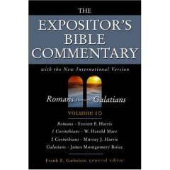 The Expositor's Bible Commentary Romans-Galatians, Volume 10: Frank E. Gaebelein