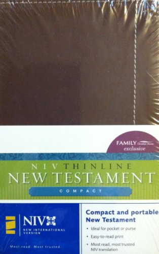 9780310610182: NIV Thinline New Testament Burgundy Compact Bible