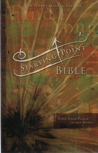 9780310612353: NIV Starting Point Bible