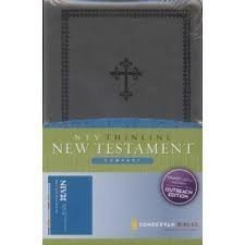9780310612810: NIV Thinline New Testament Compact (charcoal cover) (Outreach Edition)