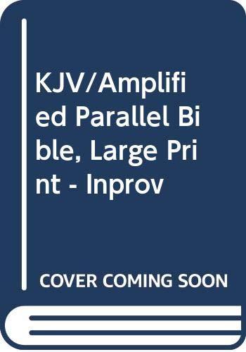 9780310613084: KJV/Amplified Parallel Bible, Large Print - Inprov