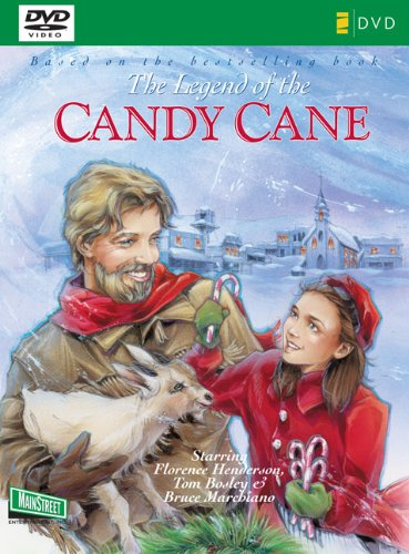 9780310618393: Legend of the Candy Cane Lifeway: The Inspirational Story of Our Favorite Christmas Candy [DVD]