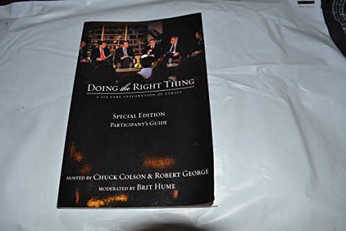 9780310619062: Doing the Right Thing Special Edition Participant's Guide