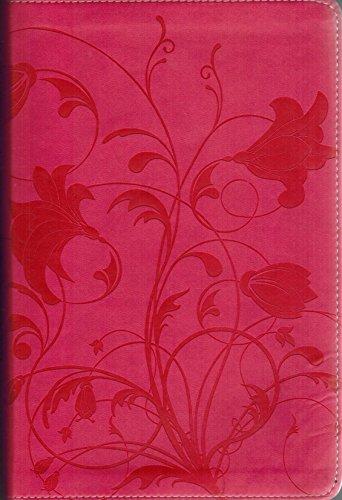 9780310619956: Zondervan NIV Holy Bible-Pink Italian Duo-Tone