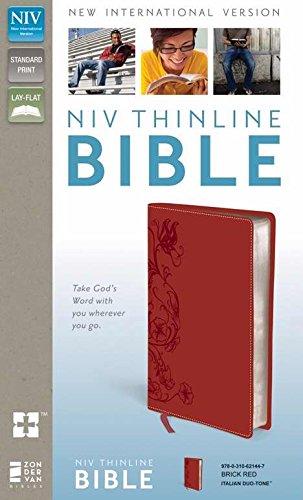 9780310621447: NIV*Thinline Bible-Brick Red LeatherSoft (Jul)
