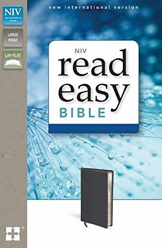 9780310621454: NIV*ReadEasy Bible-Storm Cloud Gray DuoTone (Jul)