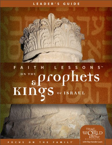 9780310678571: Faith Lessons on the Prophets and Kings of Israel (Church Vol. 2) Leader's Guide