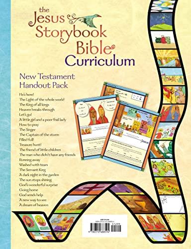 9780310688594: The Jesus Storybook Bible Curriculum Kit Handouts, New Testament