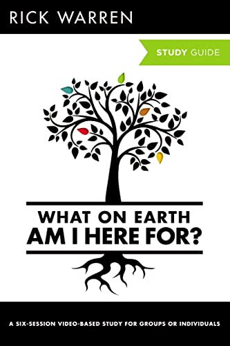 9780310696186: What on Earth Am I Here For? Study Guide (The Purpose Driven Life)
