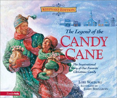 9780310703280: Legend of the Candy Cane, Gift Set, The