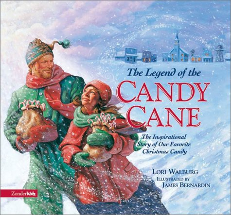 9780310703464: The Legend of the Candy Cane, ABC: The Inspirational Story of Our Favorite Christmas Candy