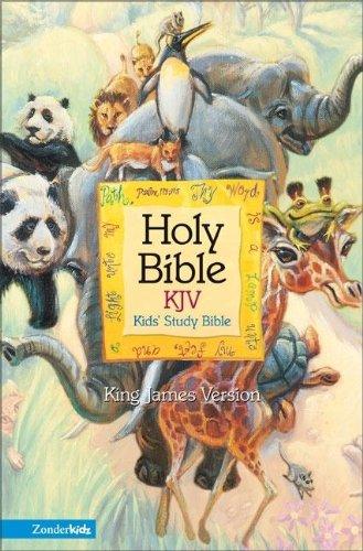 9780310704881: KJV Kids' Study Bible