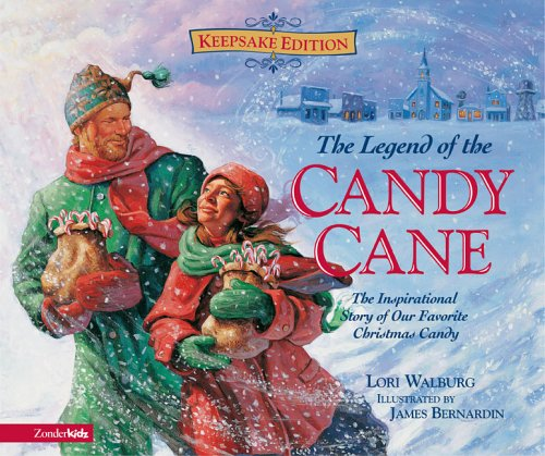 9780310705352: The Legend of the Candy Cane Keepsake Book
